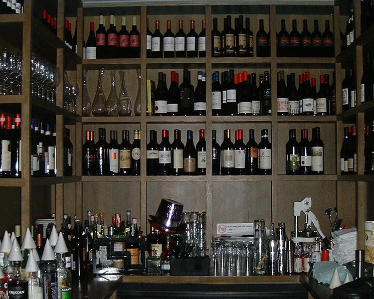 Commercial custom wine cellars chicago the girl the goat for Custom wine bar