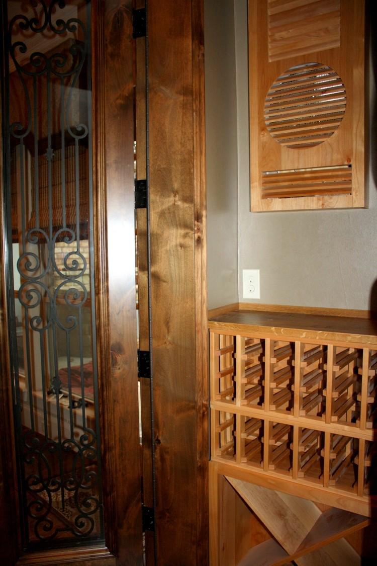 Texas Trophy Club Residential Custom Wine Cellar Nr Dallas