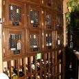 Lockers with Magnum rack below