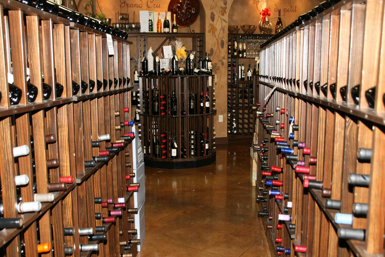 Impressive Commercial Wine Display Racks 1293 x 863 · 182 kB · jpeg