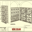 Commercial Wine Racks Design 3D Bistro-de-la-reine Louisiana