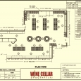 Commercial Wine Racks Design Plan Bistro de la reine Louisiana
