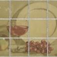 Wine And Plate by Joe Schneider