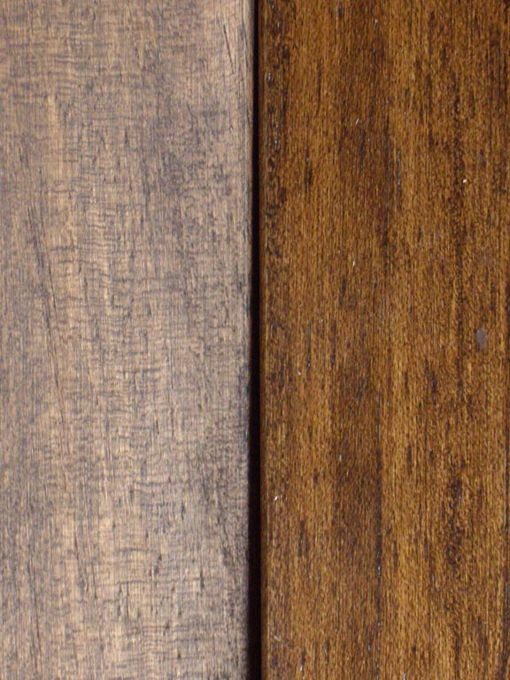 Mahogany With Rustic Stain/Rustic Stain Lacquered