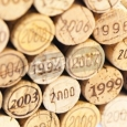 Corks with Dates - Mural
