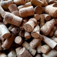 Pile of Wine Bottle Corks - Mural