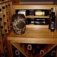 Custom Wine Cellars Texas Dann Display Racks Above