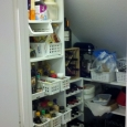 Dann Custom Wine Cellar Conversion - Pantry Before