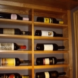 Custom Wine Cellars Texas Dann Right Wall Horizontal Racks Top