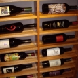 Custom Wine Cellars Texas Dann Right Wall Horizontal Racks Bottom