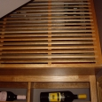 Wine Cellar Refrigeration Grill Installation
