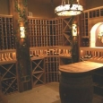 Custom Wine Cellar with lighting Chicago Illinois