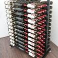 3' Half Island Display Wine Rack