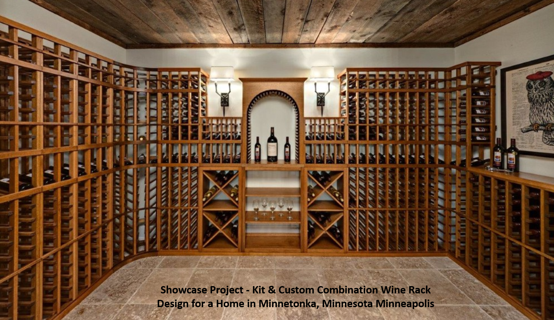 Minneapolis home wine cellar designs ideas Home wine cellar design