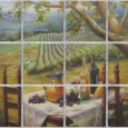 Picnic In The Vineyard by Lilli Pell