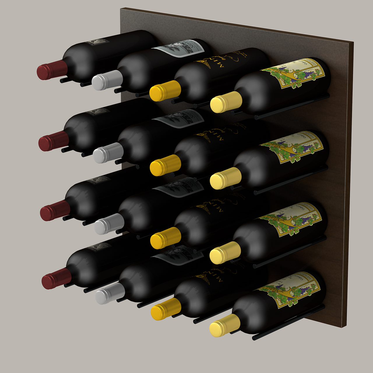 Wine Bottle Peg System Vv Vr Vino Rails Wine Racks