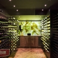 Stunning wine cellars designs can be created with the Wine Wall System