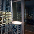 Memphis Tennessee custom wine cellar - wine room front left