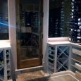 Memphis Tennessee custom wine racks - wine room front right