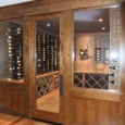 Memphis Tennessee Custom Wine Room - wine room looking in