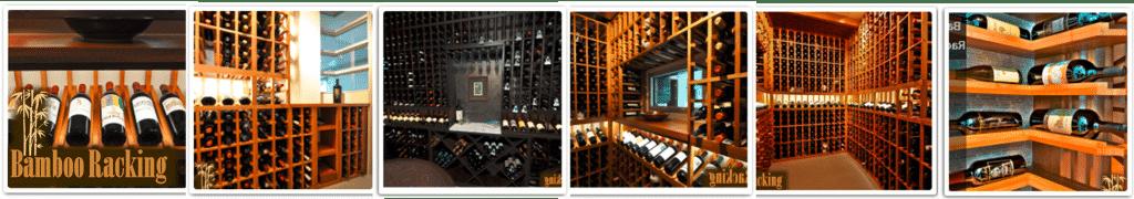 Bamboo Wine Racks Style