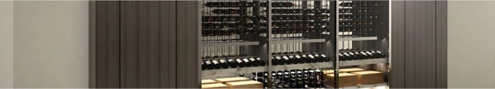 Modern Home Custom Wine Cellars in Tampa Florida