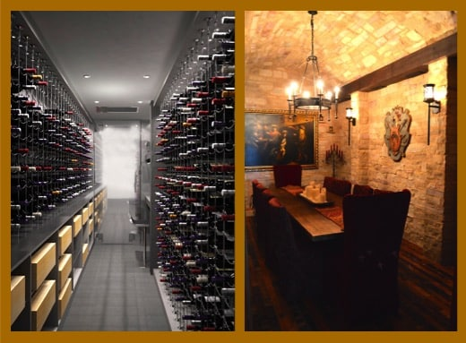 Modern and Contemporary Wine Cellars