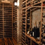 Custom Wine Cellar and Wine Tasting Room Combination in Naples, Florida