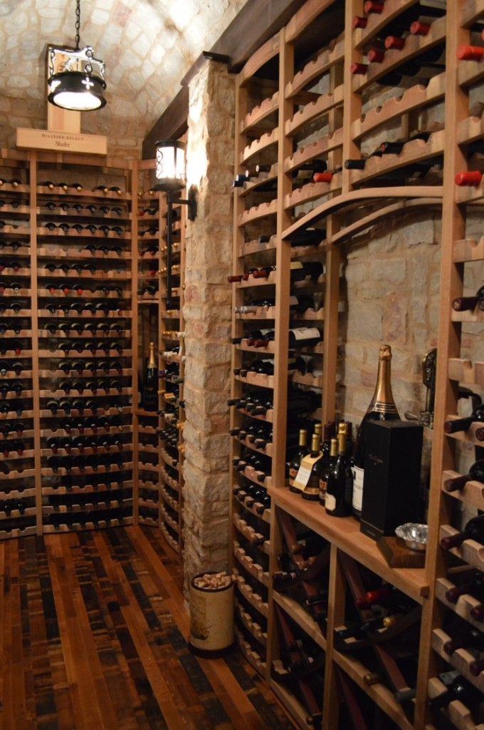 Custom Wine Cellar and Wine Tasting Room Combination in Naples, Florida