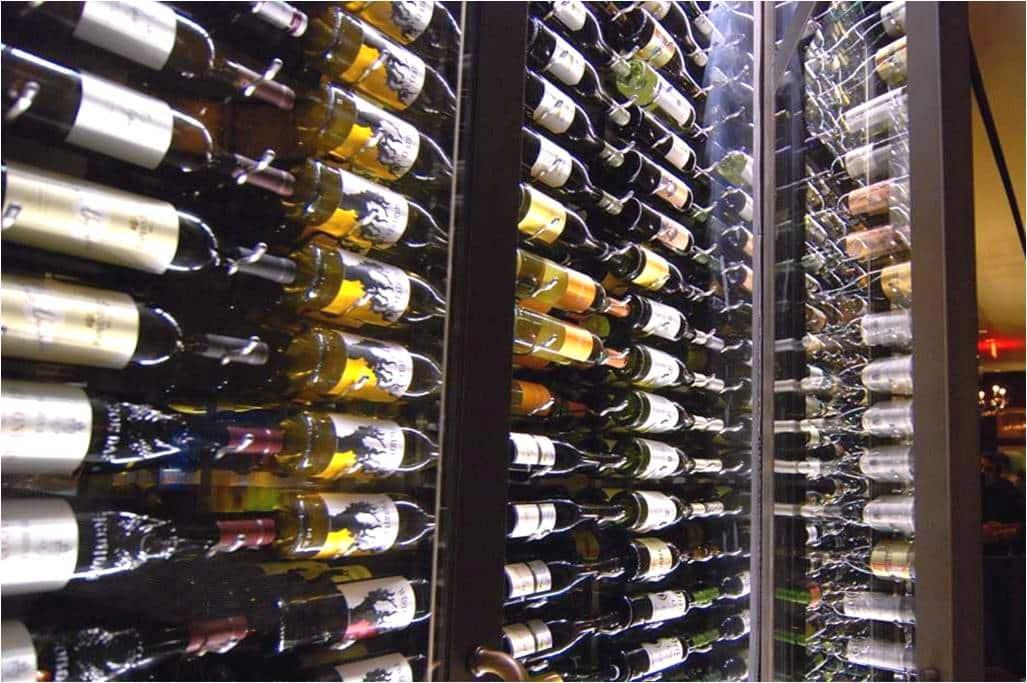 Dallas Texas metal wine racks
