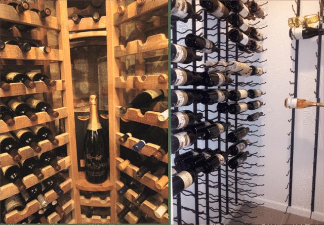 Florida wine racks
