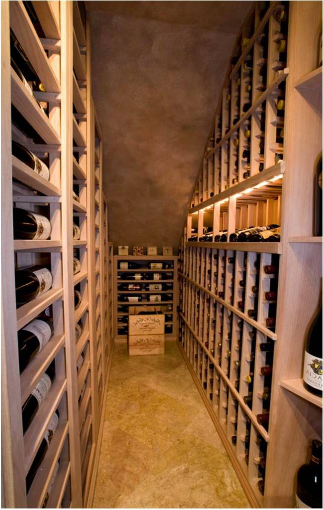 proper wine storage Texas