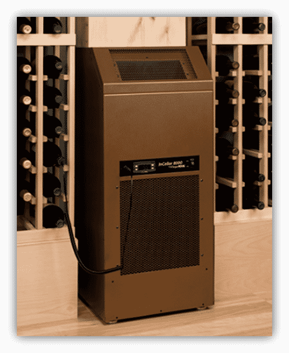 wine cellar cooling system