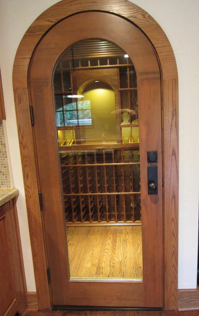 wine cellar door Texas