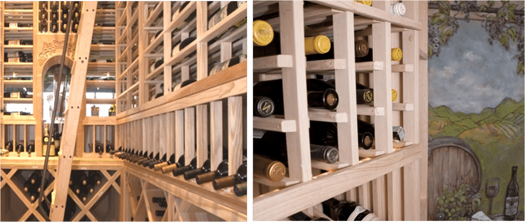 wine cellar racks Texas