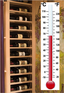 wine cellar temperature Chicago