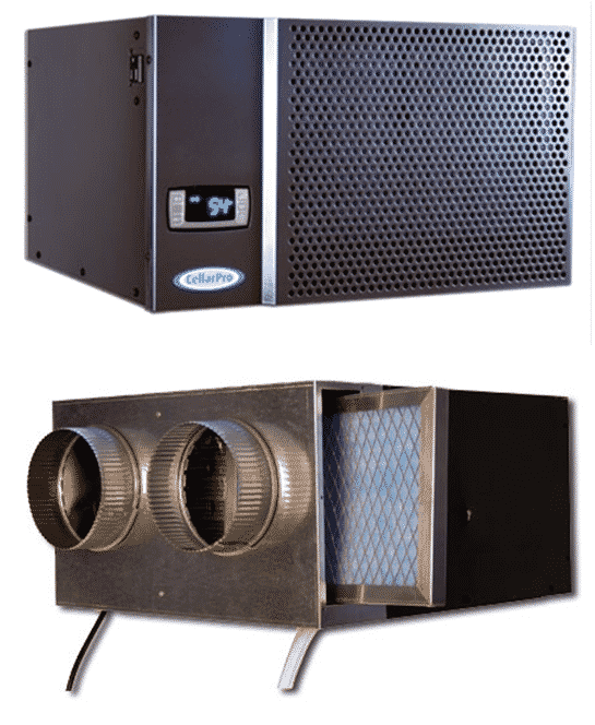 wine cooling systems for Texas and Chicacago wine cellars