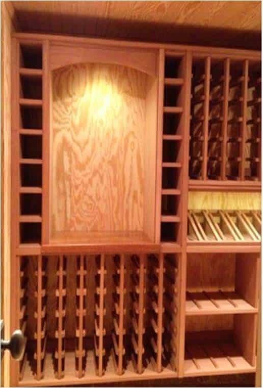 wine racks Texas