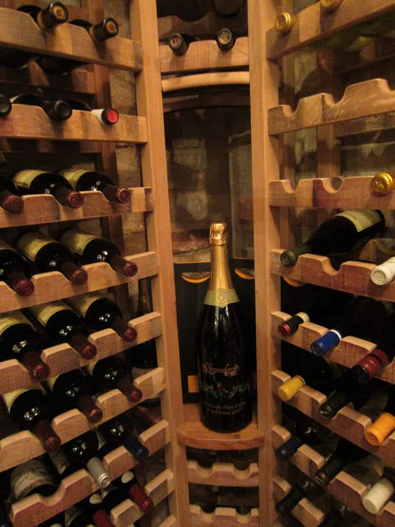 wine storage Texas