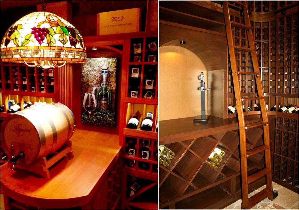 Custom Wooden Wine Racks by Wine Cellar Specialists