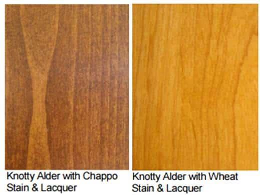 Knotty Alder Wood