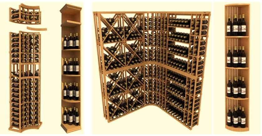 Pre-Made Wooden Wine Racks