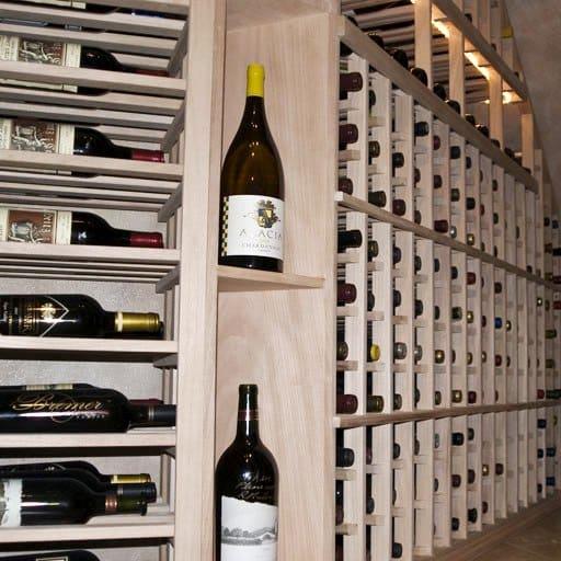 Unfinished Mahogany Wine Racks