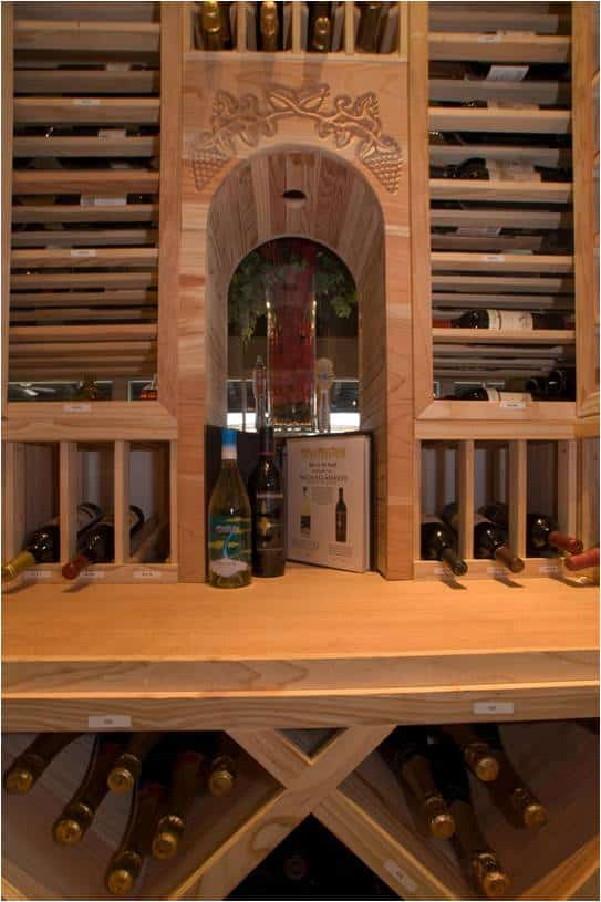 wooden wine rack design Texas