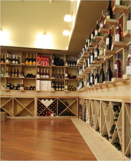Wooden Commercial Wine Racks