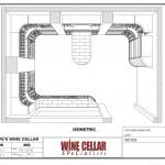 Custom Wine Cellars Chicago Illinois Design 3D Drawing Plan Dave
