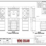 Wine Cellar Builders Chicago Illinois Design Drawing Plan Dave