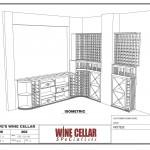 Wine Cellar Builders Chicago Illinois Design Drawing Side Racks Dave