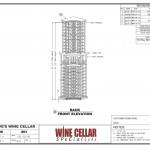 Wine Cellar Racks Chicago Illinois Design Drawing Corner Dave