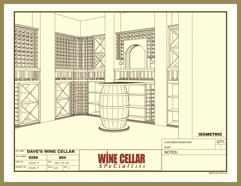 Custom Wine Cellars Design Dallas Dave